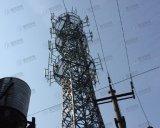 マストが付いている良質HDGの管状の格子タワー
