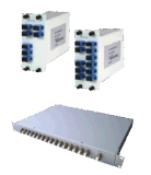 Módulo OADM de fibra óptica DWDM para el sistema DWDM