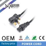 Câble de puissance des ordinateurs de fiche de cordon d'alimentation de prix bas SA de Sipu