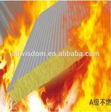 Painel de sanduíche à prova de fogo de lãs de rocha com ISO9001