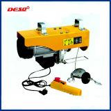 Kran, der elektrische Drahtseil-Hebevorrichtung anhebt