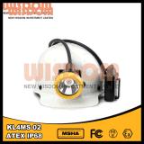 Lumière rechargeable de mineur de la sagesse Kl4ms-02 DEL, lumière campante, lampe de chapeau de mineurs