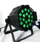 18 LED RGBWAの紫外線6in1ズームレンズLEDの同価はできる