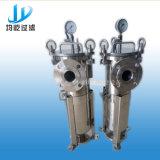 De hygiënische Filter van de Zak van de Filter van de Zak van het Roestvrij staal Chemische Enige Vloeibare