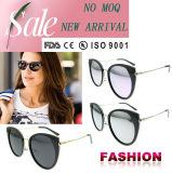 Lunettes de soleil polarisées par vente en gros de plot réflectorisé de femmes de Sunglass de créateur de lunettes de soleil