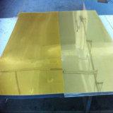 Hoja auta-adhesivo de acrílico del espejo del mejor precio de la fábrica de China