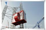 Grua superior Sc200/200 da construção das gaiolas do fabricante dois de China