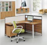 Partition en bois L poste de travail de personnel de forme (HX-NCD285) de bureau