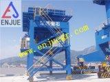 Gummireifen-beweglicher Bulkladung-Kanal-Zufuhrbehälter
