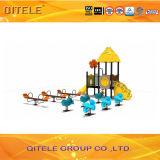 Kindergarten-Spielplatz-Gerät mit galvanisiertem Pfosten und LLDPE Plastik
