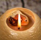 OEMの装飾のための創造的な工夫の恐竜の卵の蝋燭