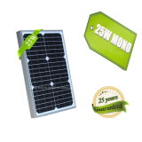 Ранг панель солнечных батарей AC 12V 25W гибкую Mono для шлюпок