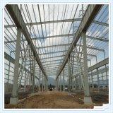 Helles vorfabriziertes Stahlkonstruktion-Gebäude für Werkstatt oder Lager