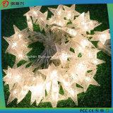 30 luces solares impermeables del LED para el jardín, hogar, la Navidad, partidos