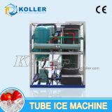 Macchina di ghiaccio del tubo di Koller con alto Effieiency congelato 3000kg/Day