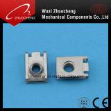 Noix de clip galvanisée de l'acier du carbone U avec la conformité d'OIN