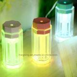 Atacado LED Color Night Light Humidifier Humidificador de carro USB Powered