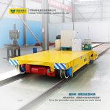 倉庫の転送の柵の平らな手段の頑丈な貨物トロリー