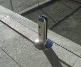 Zipolo di vetro di Rould dell'acciaio inossidabile con la flangia per la recinzione del raggruppamento