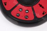 6-Outlet & striscia di carico di potere della protezione di impulso delle 4 porte del USB con l'altoparlante di Bluetooth