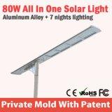 情報処理機能をもったアルミニウムハウジングの道ライトLED街灯ランプの光電池