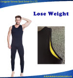Venda por atacado Men Neoprene Weight Loose Vest Sweatsuit Body Shaper