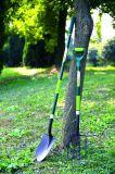 Herramientas de jardín Forged Steel Sharp Spade Round Point Pala con mango de fibra de vidrio