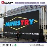 Tabellone per le affissioni locativo esterno dell'interno della parete dello schermo di visualizzazione di RGB LED di evento della priorità bassa di fase video