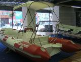 barco inflable de la costilla de la longitud de los 4.8m