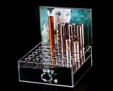Wundervoller Acryllippenstift-Verfassungs-Hilfsmittel-Ausstellungsstand-Halter-Kasten