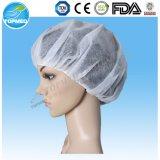 Protezione rotonda non tessuta dei pp, coperchi capi a gettare, protezione Bouffant