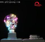 빨간 가정 당 훈장 LED 구리 철사 빛 Dimmable 2W Edison 포도 수확 RGB LED 전구