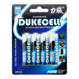 Emballage bon marché de carte d'ampoule de la batterie 1.5V d'aa