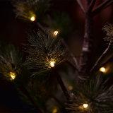 3*AA電池LEDの木ライトが付いている60cm24LEDs松の木ライト