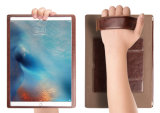 Apple iPad 가죽 상자 손가락으로 튀김 휴대용 퍼스널 컴퓨터 대 덮개를 위한 도매 지능적인 정제 상자