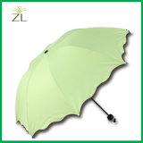 الصين بالجملة موقعات رخيصة صنع وفقا لطلب الزّبون علامة تجاريّة سحريّة ماء ينشّط لون يغيّب مظلة يطوي [هيغقوليتي] يدويّة
