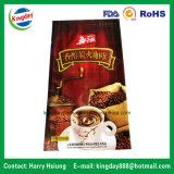 3 стороны герметизируя мешок кофеего с по-разному материалом