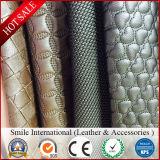 Cuir synthétique métallisé de PVC pour la portée de sofa et de véhicule