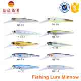 أنيق شكل [مينّوو] يستعصي بلاستيكيّة صيد سمك طعم