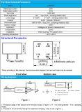 Actuel-Type potentiel support du transformateur 2mA/2mA de carte de 1000:1000 de transformateur de tension