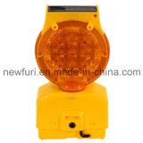 Solarbarrikade-Licht-Ampel-Gefahr-Warnleuchte des blinker-LED