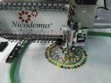 Machine de broderie automatisée par tête simple pour prix de chapeau et de broderie plate le meilleur en Chine