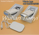 Punta de prueba sin hilos del ultrasonido de Smartphone para la exploración de la piel