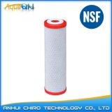 Kohlenstoff-Block-Filtereinsatz (rote Schutzkappe)