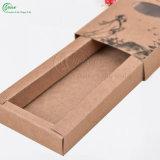 Изготовленный на заказ гофрированная бумага логоса кладет изготовление в коробку (KG-PX088)