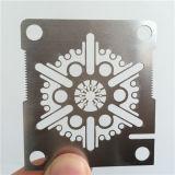 Baixo custado 3015/4020/6020 de máquina de estaca do CNC da fibra do metal do laser