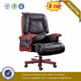 木の調節可能な主任の椅子の革執行部の椅子(HX-CR041)