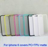 Нестандартная конструкция iPhone аргументы за мягкого телефона TPU & PC 6 6s