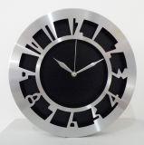 Nuovo orologio di parete del metallo del blocco per grafici dell'acciaio inossidabile dell'orologio 2017