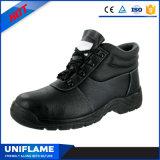 Кожаный люди работая ботинки безопасности Ufb018